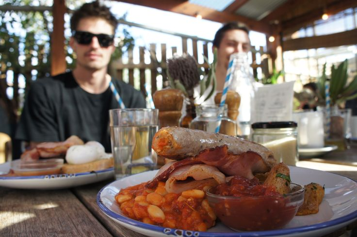 A Farmers Breakfast at The Farm Cafe, Melbourne. @YoungDumbAndFun