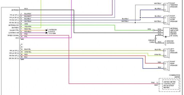 1999 Head Unit Wiring Diagram Nissan Altima Aftermarket