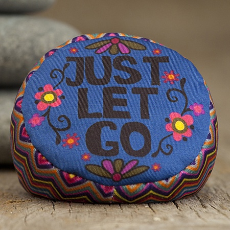 "Natural Life ""Just let go"" inspirational divorce stress ball"
