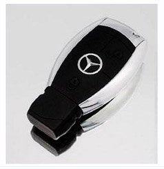 Mercedes Lighter With Key Chain