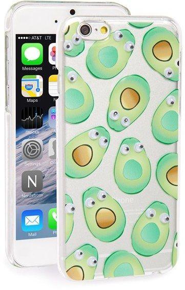 Skinnydip 'Googly Avocado' Iphone 6 & 6S Case - Green