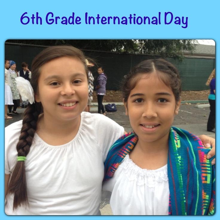6th Grade International Day