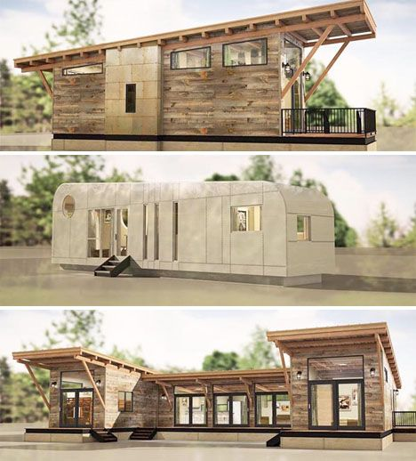 Downsizing to a smaller home doesn't have to mean living in a flimsy prefab, inhaling toxic chemicals from cheap synthetic components. It also doesn't have