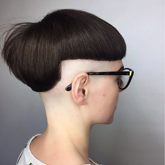 How To Put In Bangs On A Shaved Head 1000 Ideas About