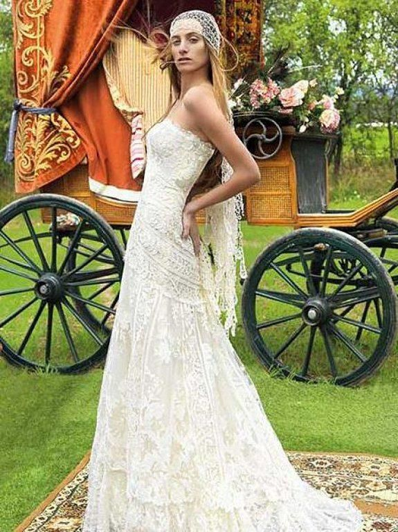 Vestidos de novia hippie bogota