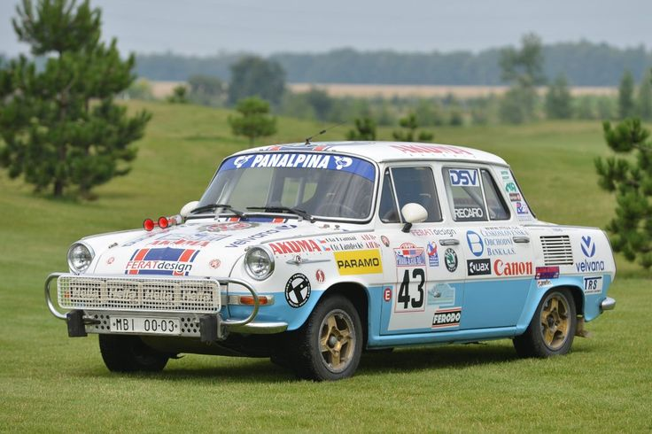 SKODA_1000MB - Skoda participates in Sachsen Classic rally with four historic cars