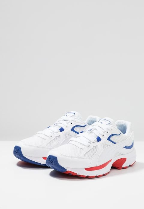 Presunto el estudio conductor  Puma AXIS PLUS 90'S - Sneakers - white - Zalando.dk | 90s sneakers,  Sneakers, Sneakers white