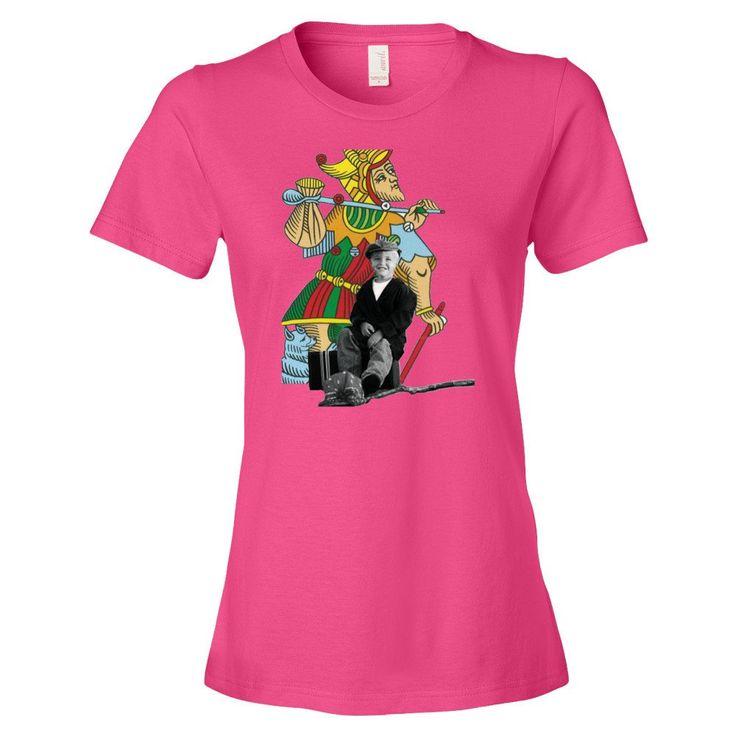 T-shirt donna serie The Tarot   0. Il Matto      Alori1961