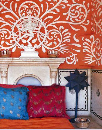 Dream Bedroom (teal instead of Orange)