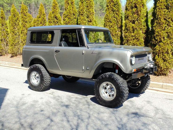 I.H. International Scout 800 Pro Family Cage
