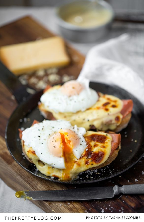 Croque Madame for breakfast or a light lunch.