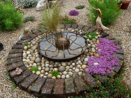 41 best images about gravel garden on pinterest gardens for Garden pond gravel