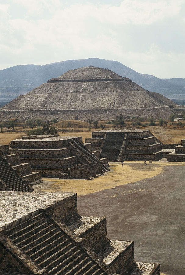 The Temple Of The Sun, Teotihuacan, Mexico