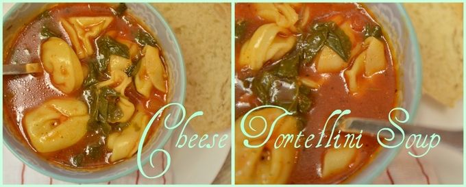 Cheese Tortellini Soup: MADE IT -This was SOO good! Really try it, you'll be pleased.