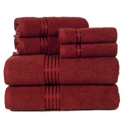 Hotel 6 Piece Towel Set | Wayfair