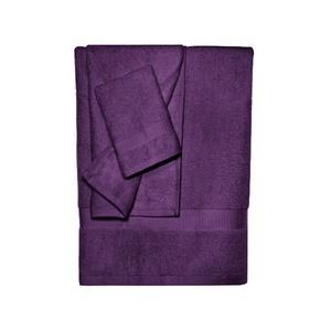 Bamboo Towel Set Purple