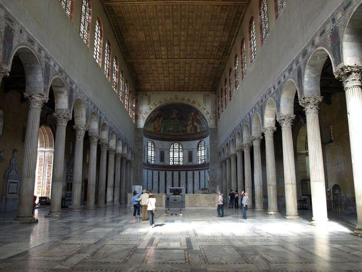 Basílica de Santa Sabina, Roma Anónimo Paleocristiano 425 a.C.