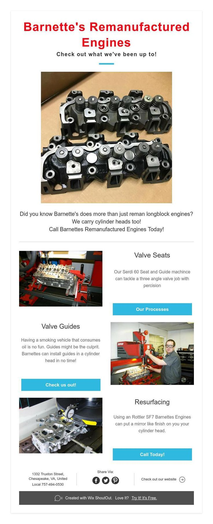 Barnette's Reman Engines-Check out what we've been up to!