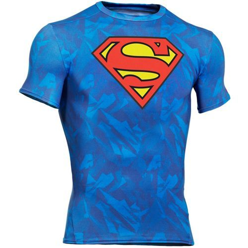 Under Armour® Men's Alter Ego Superman Compression Shirt