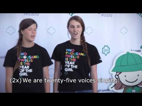 2 - I am One Voice -- Girl Scout Sing-A-Long - YouTube