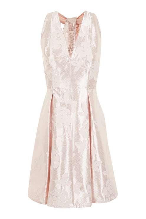 Twist Jacquard Prom Dress