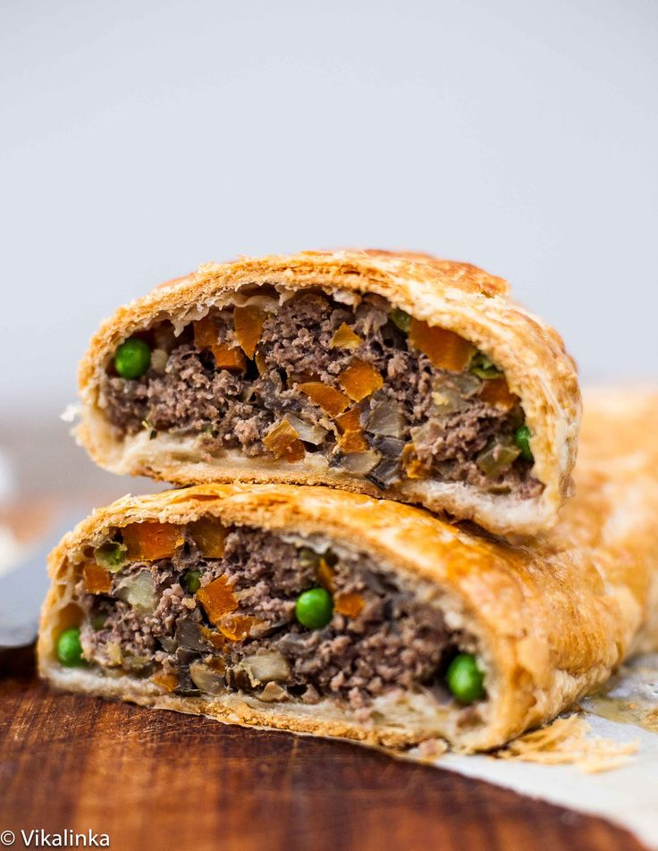Ground Beef Wellington-the best and the most elegant meat loaf you will ever serve!