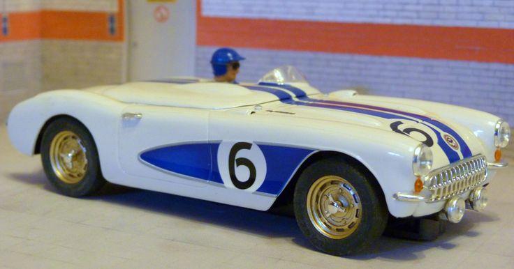 Ninco 50347. Chevrolet Corvette. Sebring 1956. Ray Crawford-Max Goldman-Charles Hassan-Don Davis, Jr. #slotcar