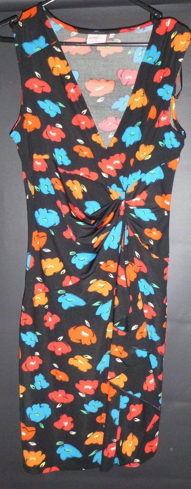 LEONA EDMISTON dress printed, stretchy, VGC, 12   eBay