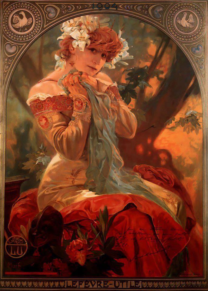 Alphonse Mucha: Alfons Mucha, Alphon Lot, Art Nouveau, Alphonsemucha, Lefevre Utility, Art Deco, Alphonse Mucha Maria, Alphonse Mucha, New Art