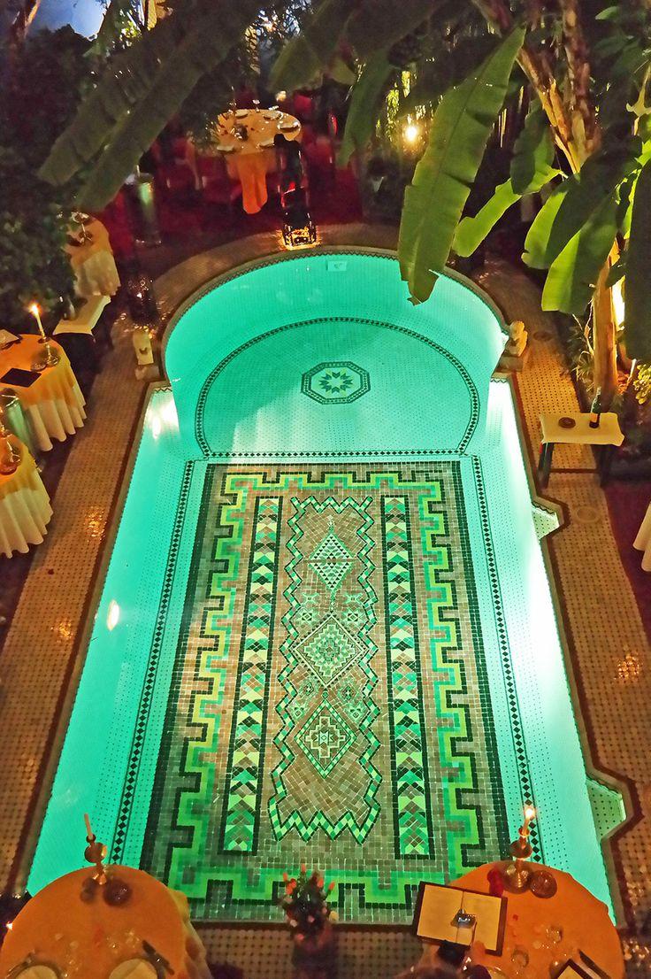 Dar Moha Almadina riad restaurant in Marrakech, Morocco. Travel photo by Katja Presnal @skimbaco