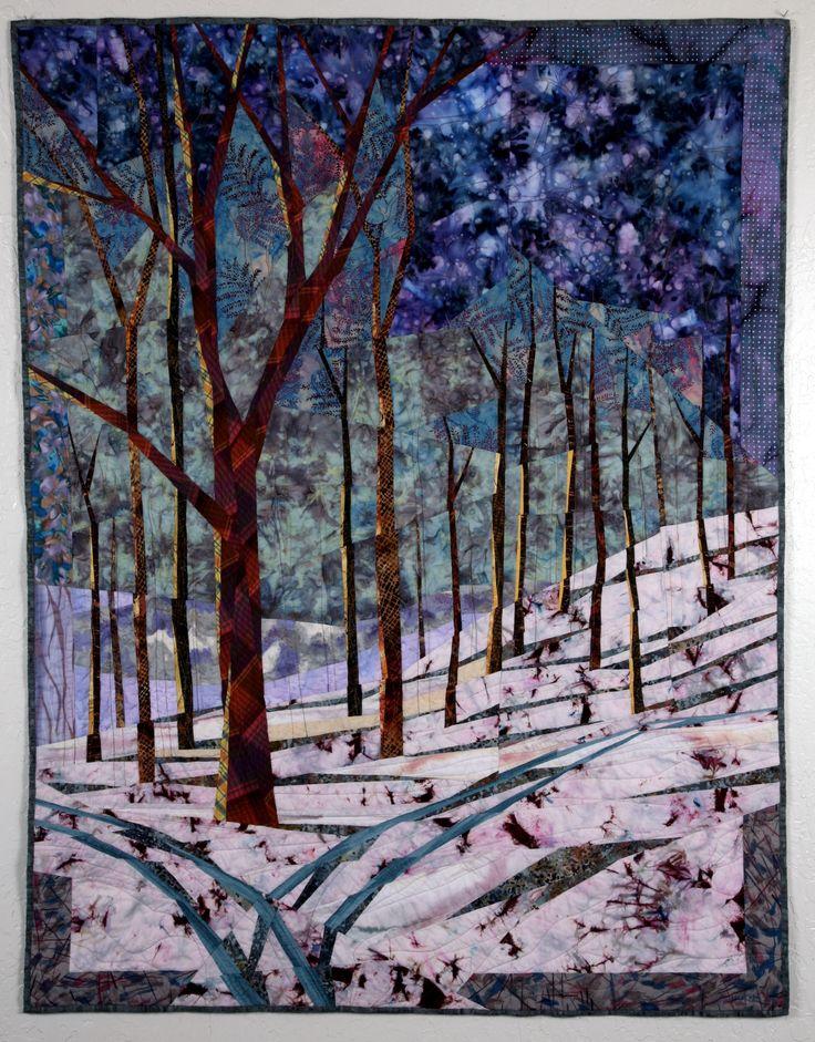 1247 best Landscape quilts images on Pinterest | Quilt block ... : landscape quilting fabric - Adamdwight.com