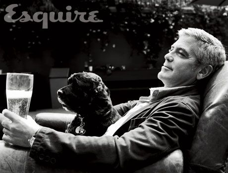 George Clooney: George Clooney, Bestfriends, Pet, Some People, This Men, Men Best Friends, Shelters Dogs, Dogs Lovers, Animal