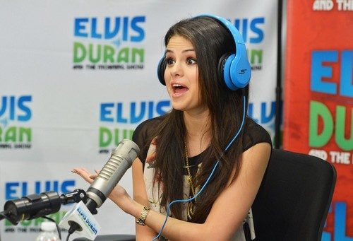 Selena Gomez at Z100 studios in Manhattan on April 24, 2013