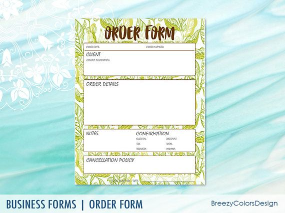 31 best Order Form Templates images on Pinterest Marketing ideas - client information form template