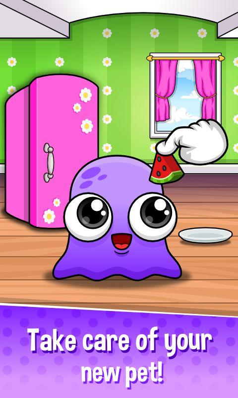 Moy 5 🐙 Virtual Pet Game- screenshot