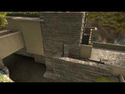 Frank Lloyd Wright LA CASA EN LA CASCADA, Fallinwater house - YouTube
