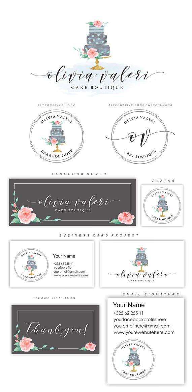 Conception de Logo de boulangerie, gâteau et Patisserie Logo, Floral aquarelle gâteau, gâteau Logo Design, Logo filigrane, emballage boulangerie, ensemble logo boulangerie APRÈS L'ACHAT S'IL VOUS PLAÎT FOURNIR LES RENSEIGNEMENTS SUIVANTS : 1. votre nom/entreprise de boutique nom nom (le nom que vous souhaitez utiliser pour votre logo) 3. vos initiales 4. le monde sous le nom (photographie, boutique, life coaching etc.) 5. (pour l'étendue définit seulement) : plus de détails pour votre ...