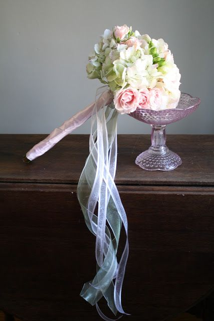 Flower Girl Wand Bouquet - Splendid Stems Floral Designs