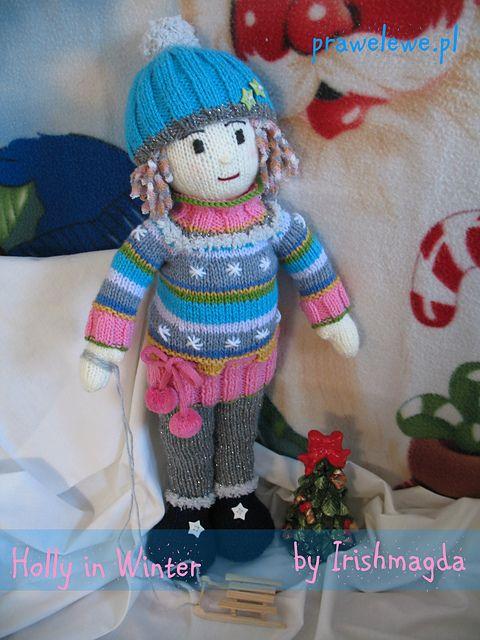 Ravelry: Holly in Winter pattern by Irishmagda