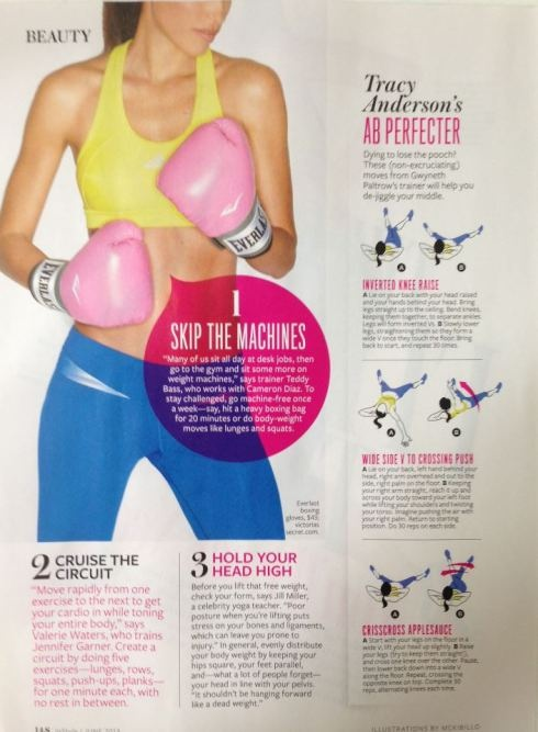 Tracy Anderson's Ab Perfecter