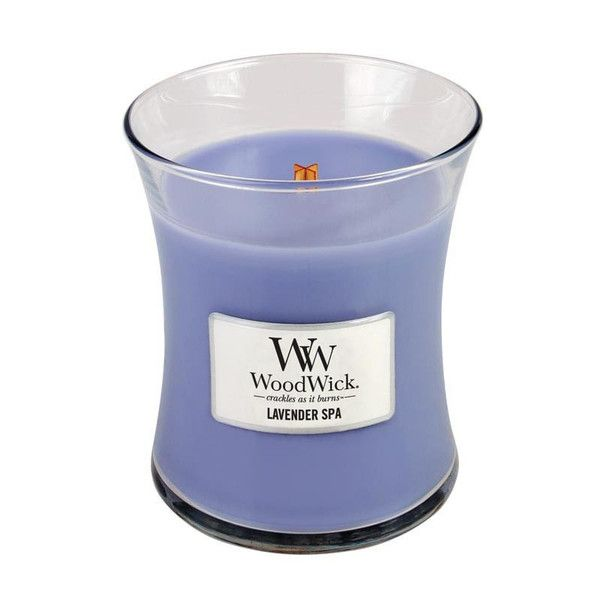 WoodWick Lavender Spa Scented Candle – Just Scented Candles