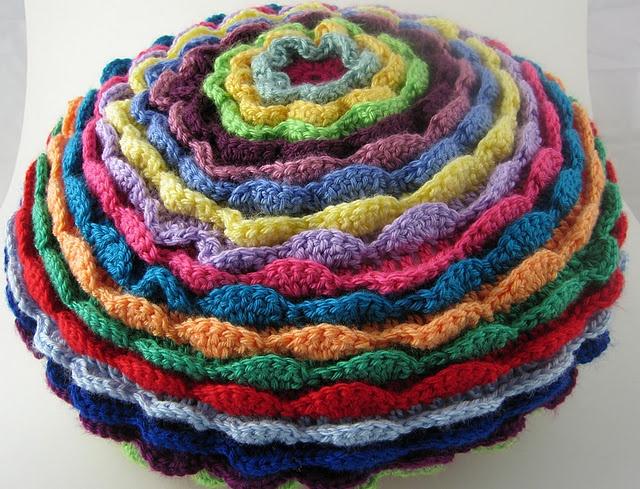 Blooming Flower Petal CushionPhotos, Flower Petals, Crochet Projects, Flower Cushions, Crochet Fantasy, Bloom Flower, Crochet Things, Petals Cushions, Crochet Knitt
