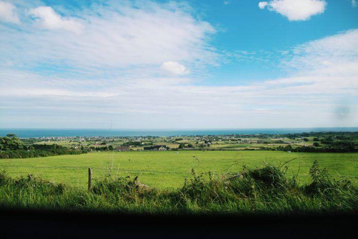 Irlanda Nord treno paesaggio