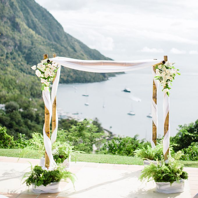 60 Amazing Wedding Altar Ideas Structures For Your: Best 25+ Bamboo Wedding Arch Ideas On Pinterest
