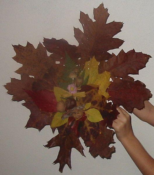 Podzimní aranžmá - ukázka