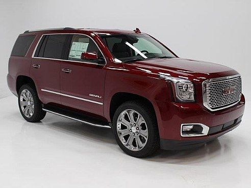 eShip This is how we Rock. #LGMSports move it with http://LGMSports.com 2016 GMC Yukon Denali Red, Aurora, MO
