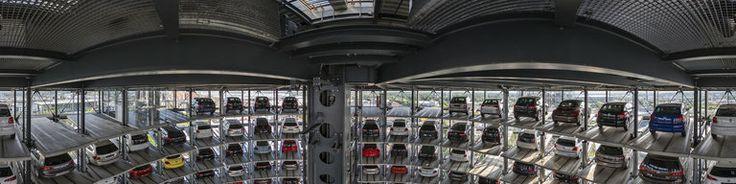 Autostadt Wolfsburg - Autoturm, Germany