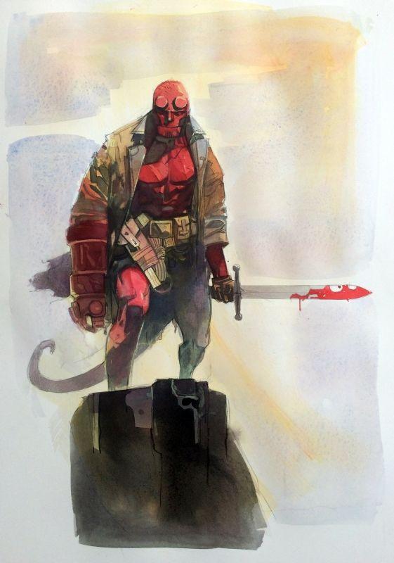 Hellboy by Alex Maleev