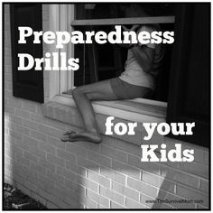Try it Today! Preparedness Drills to Do with Your Kids