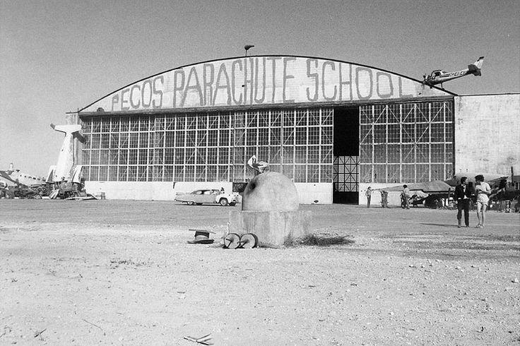 Pecos Parachute School. Fandango 1984